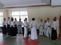 Zentraltraining Aikido in Hamburg